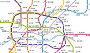 HTML5绘制上海地铁线路图