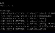 在Linux下设置MongoDB开机自启动